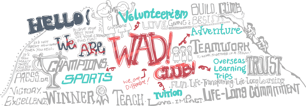 Hello! We are W.A.D! Club!